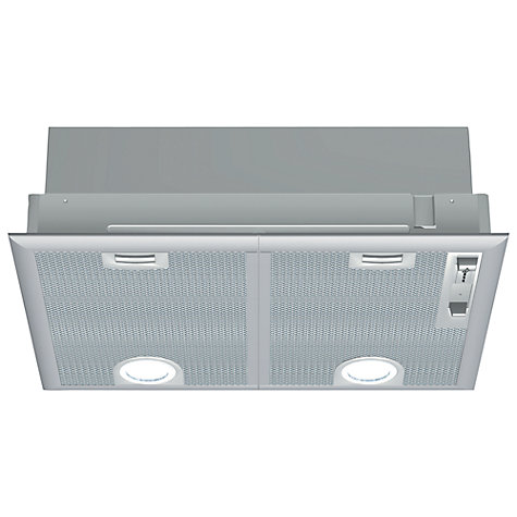 Buy Neff D5645X0GB Canopy Cooker Hood, Silver Online at johnlewis.com