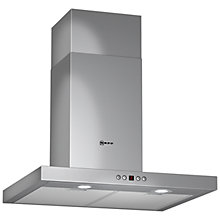 Buy Neff D76S45N0GB Chimney Cooker Hood, Stainless Steel Online at johnlewis.com