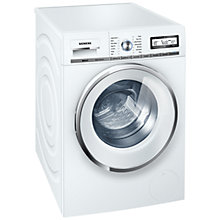 Buy Siemens WM16Y590GB Washing Machine, 8kg Load, A+++ Energy Rating, 1600rpm Spin Speed, White Online at johnlewis.com