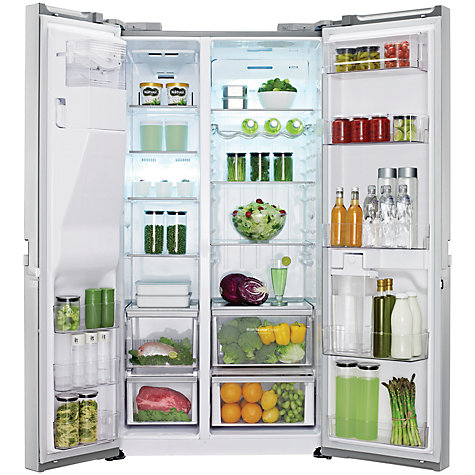 Buy LG GSL545PVYV American Style Fridge Freezer, Silver Online at johnlewis.com