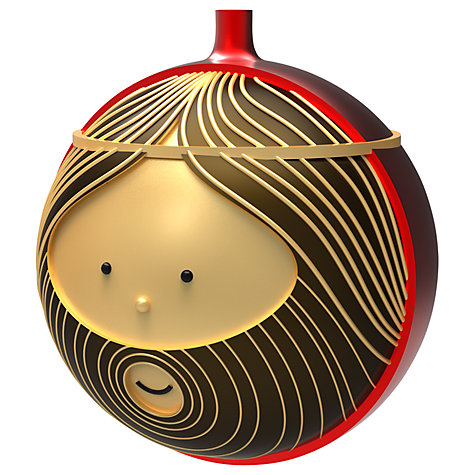 Buy Alessi Giuseppe Christmas Bauble Online at johnlewis.com