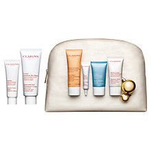 Buy Clarins Face and Body Skincare Collection Gift Set Online at johnlewis.com