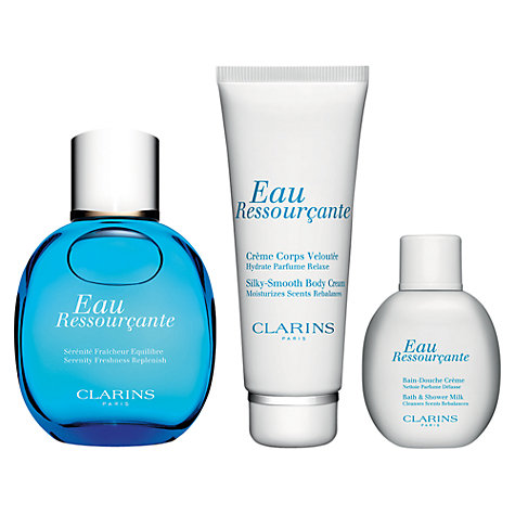 Buy Clarins Eau Ressourçante Fragrance Gift Set Online at johnlewis.com