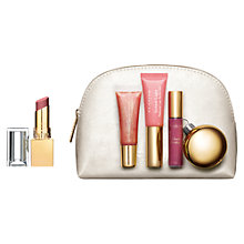 Buy Clarins All About Lips Gift Set Online at johnlewis.com