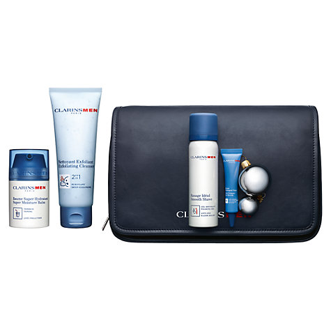 Buy Clarins Men Grooming Essentials Gift Set Online at johnlewis.com
