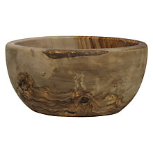Buy John Lewis Olive Wood Bowl Online at johnlewis.com