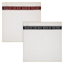 Buy John Lewis Restoration Dish of the Day Napkins, Set of 4 Online at johnlewis.com