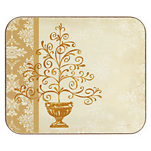 Buy Jason Elegant Christmas Coasters, Set of 6 Online at johnlewis.com