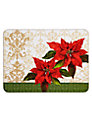 Jason Poinsettia Placemats, Set of 6