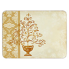 Buy Jason Elegant Christmas Placemats, Set of 6 Online at johnlewis.com