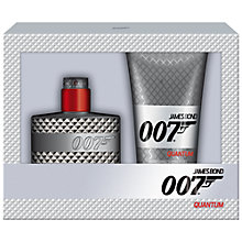 Buy James Bond 007 Quantum Eau de Toilette Fragrance Gift Set, 50ml Online at johnlewis.com