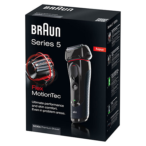 Buy Braun 5030 Series 5 Shaver Online at johnlewis.com