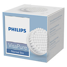 Buy Philips SC5990/10 Normal Skin Replacement Brush Head for VisaPure Online at johnlewis.com
