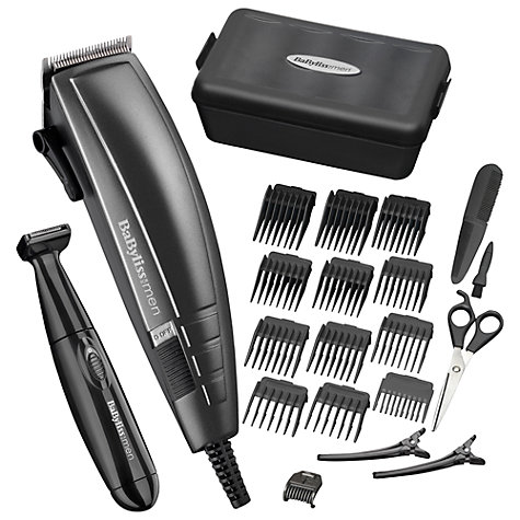 Buy BaByliss For Men 7447BU Pro Hair Cutting Kit Online at johnlewis.com