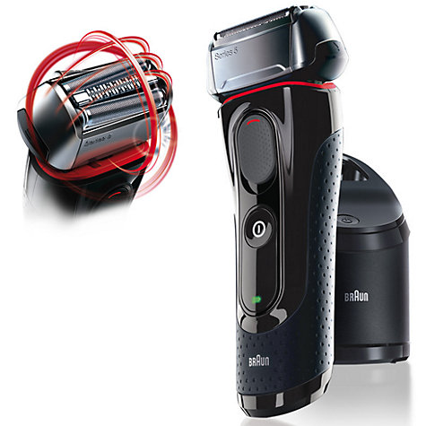 Buy Braun 5070CC Clean & Charge Shaver Online at johnlewis.com