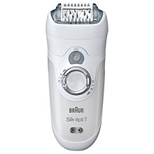Buy Braun Silk-épil 7681 Epilator Online at johnlewis.com
