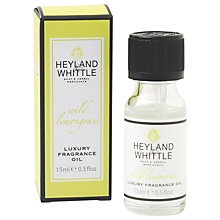 Buy Heyland and Whittle Wild Lemongrass Oil, 15ml Online at johnlewis.com