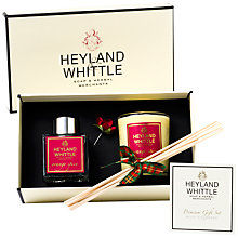 Buy Heyland and Whittle Orange Spice Mini Candle and Diffuser Gift Set Online at johnlewis.com