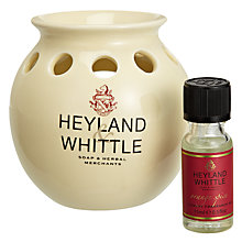 Buy Heyland and Whittle Ceramic Oil Burner Christmas Gift Set Online at johnlewis.com