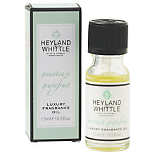 Buy Heyland and Whittle Green Tea & Citrus Oil, 15ml Online at johnlewis.com