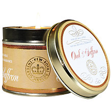 Buy Kew Gardens Saffron & Oud Scented Tin Candle Online at johnlewis.com