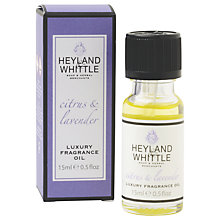 Buy Heyland & Whittle Citrus & Lavender Oil, 15ml Online at johnlewis.com