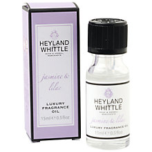 Buy Heyland and Whittle Jasmine & Lilac Oil, 15ml Online at johnlewis.com