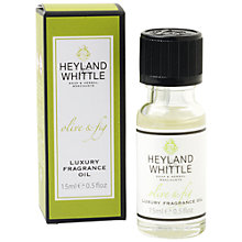 Buy Heyland and Whittle Olive & Fig Oil, 15ml Online at johnlewis.com