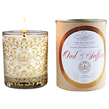 Buy Kew Gardens Saffron & Oud Scented Candle Online at johnlewis.com