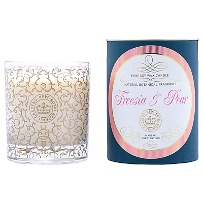Kew Gardens Pear & Freesia Scented Candle