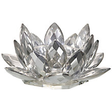 Buy Parlane Crystal Lotus Tealight Holder, Large Online at johnlewis.com