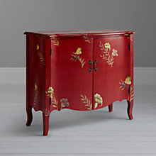 Buy John Lewis Josephine Painted Cabinet, Red Online at johnlewis.com