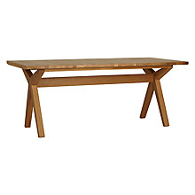 Buy Bethan Gray for John Lewis Noah 8 Seater Fixed Top Dining Table Online at johnlewis.com