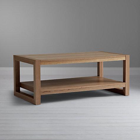 Buy john lewis logan coffee table natural john lewis for Coffee tables john lewis