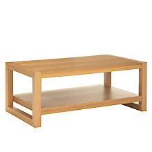 Buy John Lewis Logan Coffee Table, Natural Online at johnlewis.com