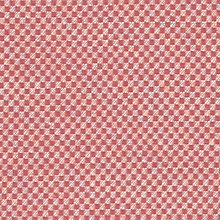 Buy John Lewis Checkmate Semi Plain Fabric, Coastal Red, Price Band C Online at johnlewis.com