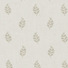 Buy John Lewis Amara Woven Jacquard Fabric, Natural, Price Band C Online at johnlewis.com