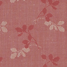Buy John Lewis Freya Woven Jacquard Fabric, Coastal Red, Price Band C Online at johnlewis.com