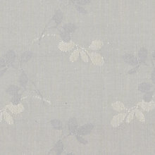 Buy John Lewis Freya Woven Jacquard Fabric, Grey, Price Band C Online at johnlewis.com