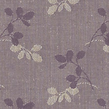 Buy John Lewis Freya Woven Jacquard Fabric, Cassis, Price Band C Online at johnlewis.com