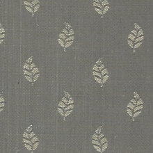 Buy John Lewis Amara Woven Jacquard Fabric, Grey, Price Band C Online at johnlewis.com