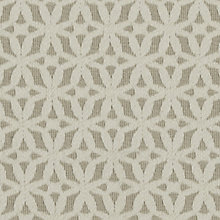 Buy John Lewis Estelle Woven Jacquard Fabric, Natural, Price Band E Online at johnlewis.com