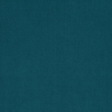 Buy John Lewis Eva Semi Plain Fabric, Teal, Price Band D Online at johnlewis.com