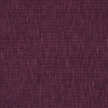 Buy John Lewis Henley Semi Plain Fabric, Cassis, Price Band C Online at johnlewis.com