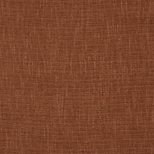 Buy John Lewis Henley Semi Plain Fabric, Terracotta, Price Band C Online at johnlewis.com