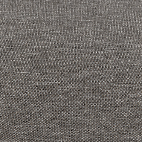 Buy John Lewis Quinn Semi Plain Fabric, Charcoal, Price Band B Online at johnlewis.com