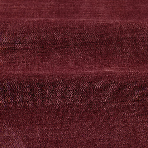 Buy John Lewis Verity Woven Chenille Fabric, Cassis, Price Band A Online at johnlewis.com
