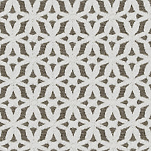 Buy John Lewis Estelle Woven Jacquard Fabric, Mole, Price Band E Online at johnlewis.com