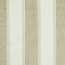 Buy John Lewis Whitby Woven Stripe Fabric, Putty, Price Band C Online at johnlewis.com
