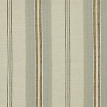 Buy John Lewis Sidney Woven Stripe Fabric, Duck Egg, Price Band B Online at johnlewis.com